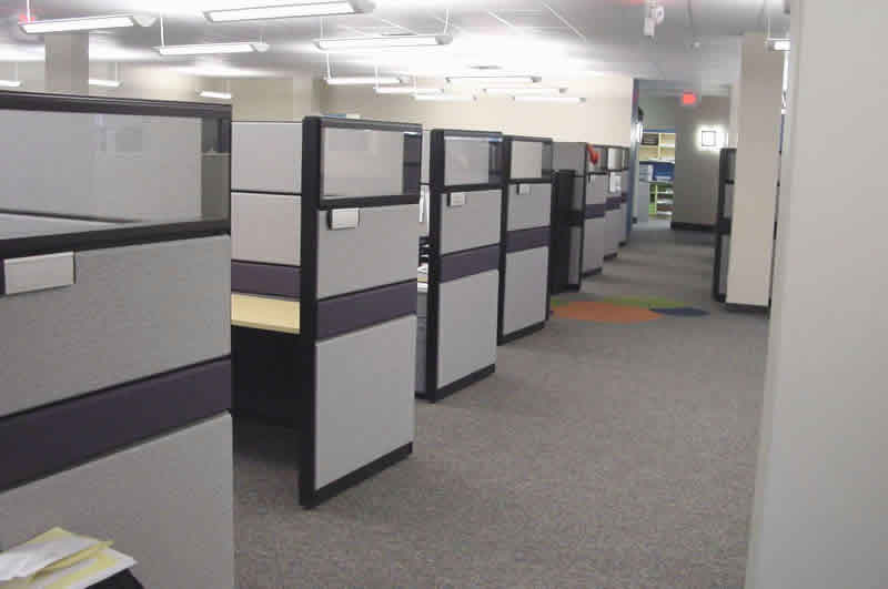 Cubicle Cleaning Services : Types of commercial cleaning services